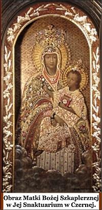 Matka Boża Szkaplerzna - Sanktuarium w Czernej